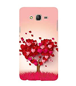 99Sublimation heart tree 3D Hard Polycarbonate Back Case Cover for Samsung Galaxy On5 :: G550FY