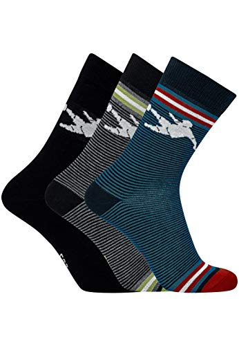 CR7 Cristiano Ronaldo - BOYS - Socken für Jungen - 3-Pack Kick - Grösse 40-43 (CR7-JBS-8470-80-467-40/43)