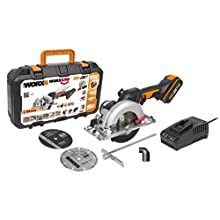 WORX WX531 18V (20V MAX) X-Large WORXSAW Brushless 41 mm Compact Circular Saw