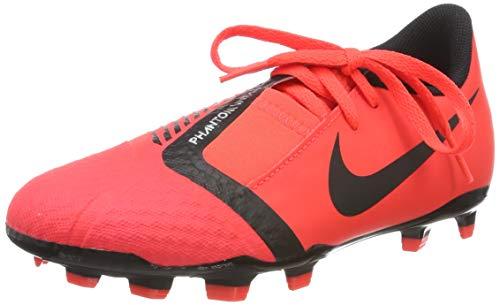 Nike Unisex-Kinder Phantom Venom Academy FG Fußballschuhe, Mehrfarbig (Bright Crimson/Black/Bright Crimson 600), 36 EU