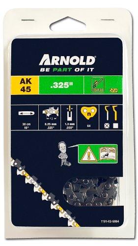 Arnold 1191-X2-5064 Sägekette .325 Zoll, 1.3 mm, 64 Treibglieder, 38 cm Schwert