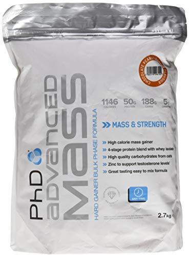 PhD Nutrition Advanced Mass 2.7 Kg Chocolate Peanut Butter, 1 Stück -