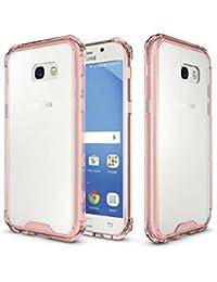2ebeee2abb0 LEMORRY para Samsung Galaxy A5 (2017) Funda Carcasa, Ultra Transparent  Claro Suave Gel TPU Silicona + Duro PC Supreme Protector…