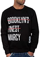 Rocawear Mens Boys Red Line Jumper Sweatshirt Hip Hop Money Is Time