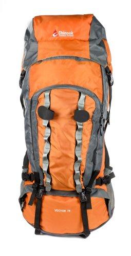 Chinook Vector Cadre Interne Expedition Lot, Orange, 75-liter