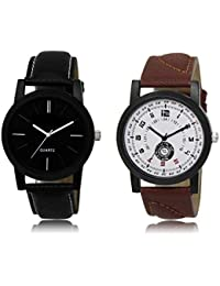 ACNOS Most Desirable Attractive Latest Analog Watches Combo For Handsome-Good Looking Men Pack Of - 2 LR05LR11