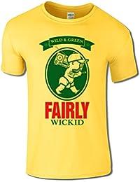 Men's Fairly Wicked T Shirt Funny Holiday Festival Tee