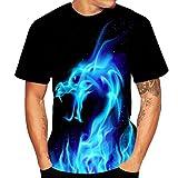T-Shirt Homme,ITISME Chemise de Fête Unisexe Rude Stag Party Déguisement 3D Offensive Seins Shirts Imprimé Manche Courte Casual Tee Shirt Décontracté Débardeurs Mode Slim Fit Muscle