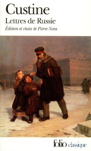 Lettres de Russie - La Russie en 1839