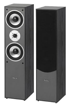 AEG LB 4711Enceintes 2Voies Bass Reflex, 500W PMPO par AEG