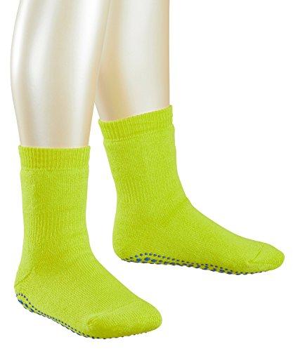 FALKE Jungen Socken Catspads 1er Pack, Grün (Lime 7601), 23-26