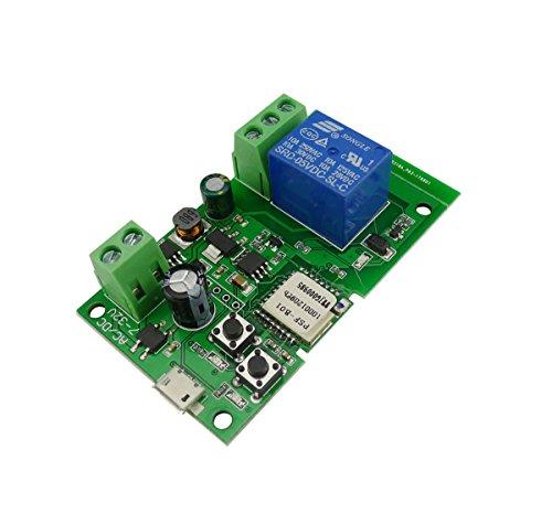Aihasd-1-canal-mdulo-Autobloqueo-WiFi-Interruptor-inalmbrico-5V12V-Para-Control-PC-Puerta-del-garaje