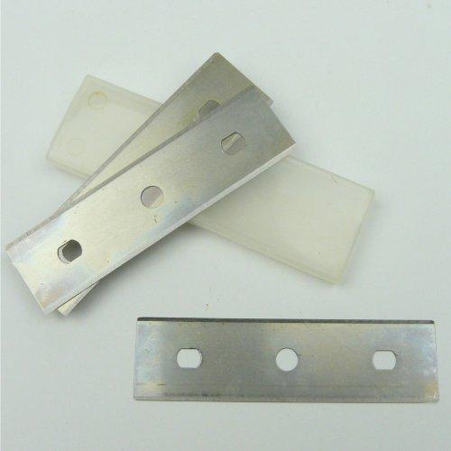 Ersatzklingen 80mm 3Stk. Farbschaber Tapetenschaber Bodenschaber Glasschaber