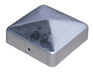 hadra PK90 Pfostenkappe, verzinkt