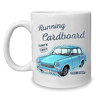 Shirtdepartment - Kaffeebecher - Tasse - Oldtimer Motive Running Cardboard