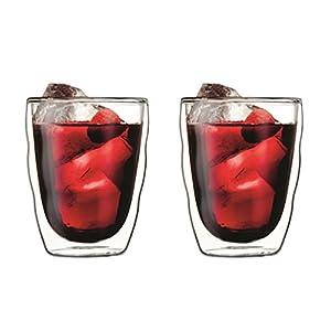 Bodum Pilatus Double Walled Glasses, Set of 2