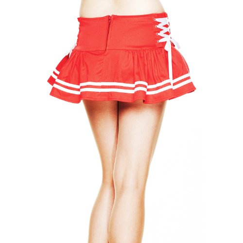 Hell Bunny Minirock MOTLEY MINI SKIRT red Red