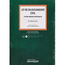 Ley de Enjuiciamiento Civil (Papel + e-book): y otras normas procesales (Código Básico)