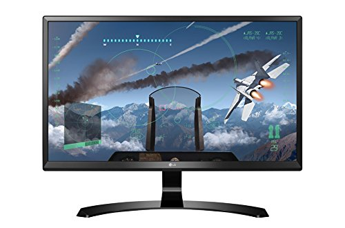 LG 24UD58-B - Monitor de 24 pulgadas 4K LED IPS, resolución 3840 x 2160, negro