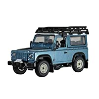 Britains 1:32 Land Rover Defender Blue with Roof Rack & Winch  Collectable Farm Vehicle 4x4 Car Toy  Suitable From 3 years