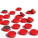 Magic Medium Marker Magnets - Red 25mm x20