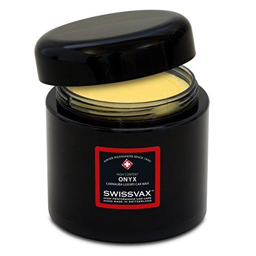 SWISSVAX SWIZÖL Onyx Wachs, 200 ml + 2 x GRATIS Applikator Pad's