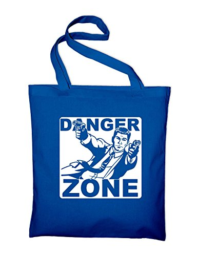 Danger Zone Sterling Malory Archer Fan Jutebeutel Royalblau