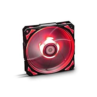 NOX– HFAN 12cm LED Fan red