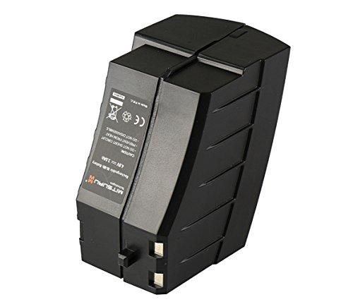 Mitsuru® 3000mAh Ni-MH 4,8V Akku Batterie für Akkubesen Kärcher K55 / K55 Pet Plus / K55 Pet / K65 Plus ersetzt 1.258-509.0 / 2.810-001.0