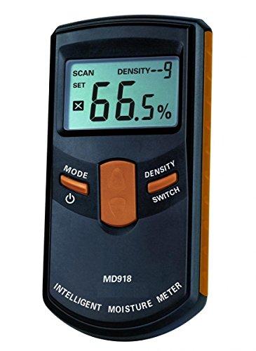 Dr. Meter MD918 Humidimètre numérique Intelligent Inductif, sans épingle, Testeur Digital-Gamme de 4%~80%RH , Précision 0,5%