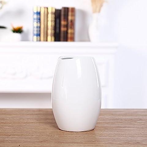 Maivas vase Calla arome mode Table à manger en verre transparent,Calla Lily blanc trois chanvre+