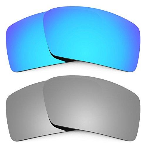 Revant Ersatzlinsen für Oakley Eyepatch 1 Polarisiert 2 Paar Kombipack K004