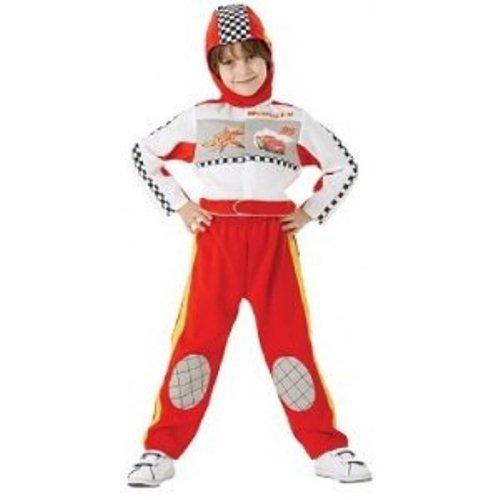 Flash Mcqueen-Kostüm für Kinder - 5-6 (Kostüme Mcqueen Lightening)