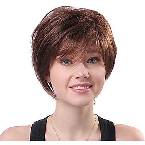OOFAY JF ® la nuova Europa e in America deve ritardante capelli alta temperatura parrucca di filato di seta del volume breve soffici