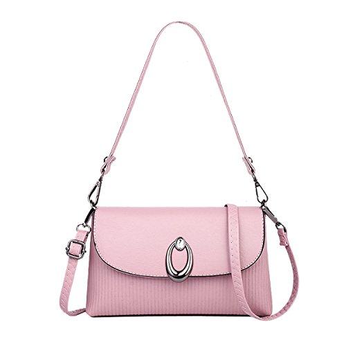 Moda Femminile Borsa A Tracolla Stile Cinese Borsa Pink