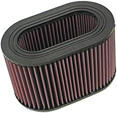 K&N E-2871 High Performance Replacement Air Filter for Mitsubishi Pajero