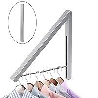 WINOMO Clothes Rack Hangers Folding Coat Hanger