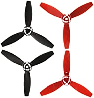 Parrot Bebop Drone 2 Propeller Set (Red/Black) from Parrot