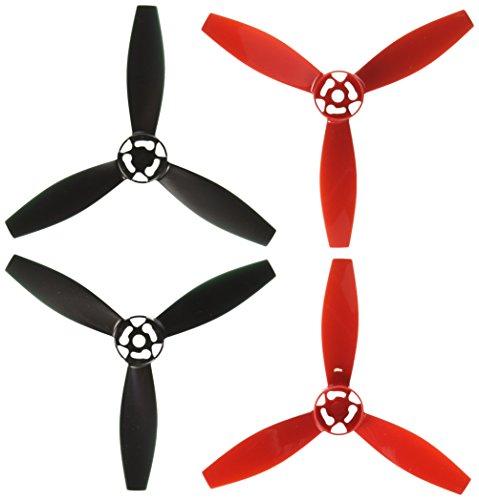 Parrot Bebop Drone 2 Propeller Set (Red/Black)