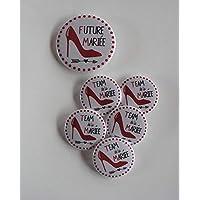 Badges EVJF Escarpin Accessoire organisation evjf Mariage.
