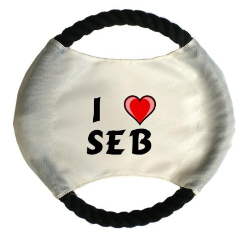 personalised-dog-frisbee-with-name-seb-first-name-surname-nickname