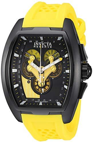 Invicta 27088 Reserve Herren Uhr Edelstahl quarz schwarzen Zifferblat - Invicta-uhr 47mm