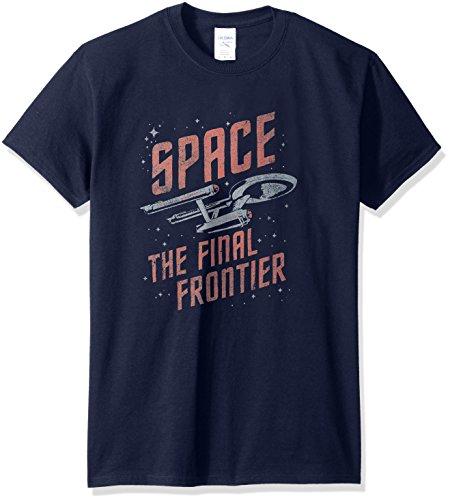 aumfahrt-T-Shirt, Medium, Navy (Star Trek-kleidung)