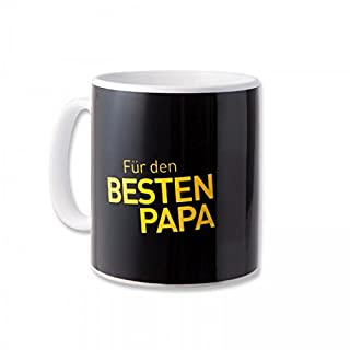 Borussia Dortmund Bester Papa Tasse / Kaffeetasse / Kaffeepott / Mug BVB 09