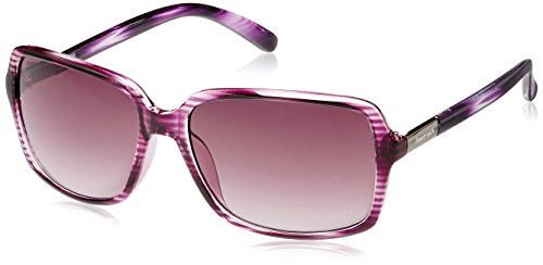 Fastrack Springers Rectangular Sunglasses (Purple) (P283PR2F)