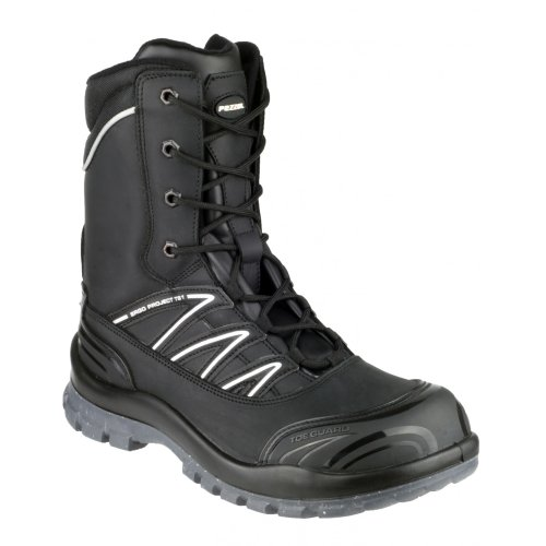 Pezzol Magellan 762 - Chaussures montantes de sécurité - Homme Noir