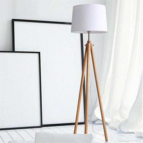 FYN Floor Lamps/Torchieres/Stehleuchten Led Vertical Massivholz Schlafzimmer European Style Study Einfache Wohnzimmer Augenschutz Home Improvement Llighting Nachttisch Licht 5W , A