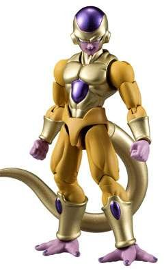 Bandai Shokugan Shodo Dragon Ball Z Golden Frieza Action Figure by Bandai Shokugan