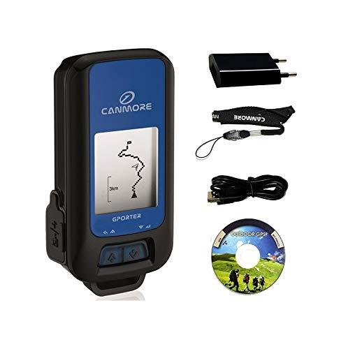 GP-102 G-Porter Multifonction Localisateur GPS Tracker Altimeter Enregistreur/Set avec Chargeur (Bleu)
