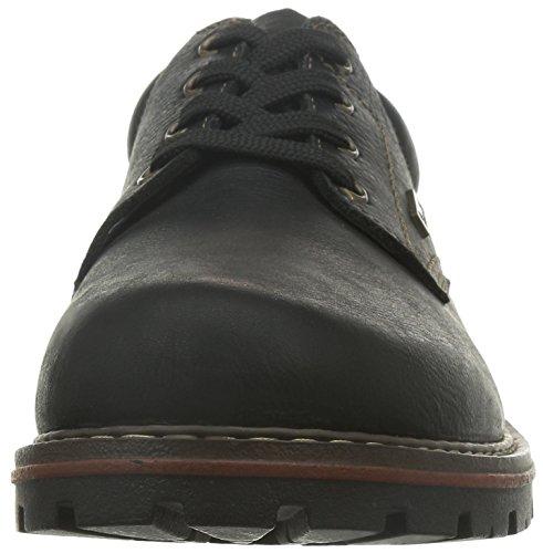 Rieker 17710, Chaussures de ville homme Noir